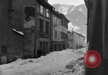 Image of shoveling snow Bludenz Austria, 1954, second 59 stock footage video 65675042927