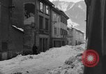 Image of shoveling snow Bludenz Austria, 1954, second 60 stock footage video 65675042927