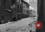 Image of shoveling snow Bludenz Austria, 1954, second 61 stock footage video 65675042927