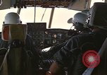 Image of Interior of Air Rescue HC-130H aircraft in flight Southeast Asia, 1966, second 15 stock footage video 65675042962
