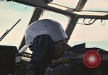 Image of Interior of Air Rescue HC-130H aircraft in flight Southeast Asia, 1966, second 24 stock footage video 65675042962