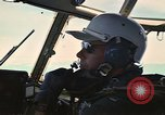 Image of Interior of Air Rescue HC-130H aircraft in flight Southeast Asia, 1966, second 32 stock footage video 65675042962