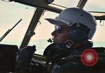 Image of Interior of Air Rescue HC-130H aircraft in flight Southeast Asia, 1966, second 33 stock footage video 65675042962