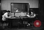Image of Japanese Station announcer Tokyo Japan, 1945, second 18 stock footage video 65675043006