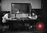 Image of Japanese Station announcer Tokyo Japan, 1945, second 19 stock footage video 65675043006