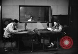 Image of Japanese Station announcer Tokyo Japan, 1945, second 39 stock footage video 65675043006