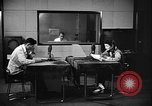 Image of Japanese Station announcer Tokyo Japan, 1945, second 42 stock footage video 65675043006
