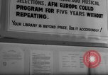 Image of Armed Forces Network Frankfurt Germany, 1962, second 14 stock footage video 65675043026