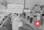 Image of Anti Castro Cuban refugees Florida United States USA, 1967, second 17 stock footage video 65675043040