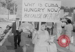 Image of Anti Castro Cuban refugees Florida United States USA, 1967, second 19 stock footage video 65675043040