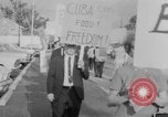 Image of Anti Castro Cuban refugees Florida United States USA, 1967, second 23 stock footage video 65675043040