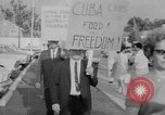 Image of Anti Castro Cuban refugees Florida United States USA, 1967, second 24 stock footage video 65675043040