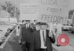 Image of Anti Castro Cuban refugees Florida United States USA, 1967, second 25 stock footage video 65675043040