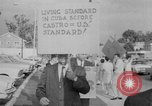 Image of Anti Castro Cuban refugees Florida United States USA, 1967, second 28 stock footage video 65675043040