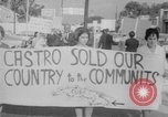 Image of Anti Castro Cuban refugees Florida United States USA, 1967, second 38 stock footage video 65675043040
