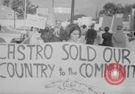 Image of Anti Castro Cuban refugees Florida United States USA, 1967, second 39 stock footage video 65675043040