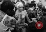 Image of Art show Provincetown Massachusetts USA, 1967, second 36 stock footage video 65675043041
