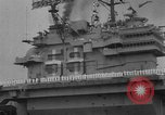Image of Aircraft carrier Forrestal Norfolk Virginia USA, 1967, second 10 stock footage video 65675043044