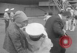 Image of Aircraft carrier Forrestal Norfolk Virginia USA, 1967, second 32 stock footage video 65675043044
