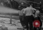 Image of Oil company warehouse under fire San Juan Puerto Rico, 1967, second 20 stock footage video 65675043046