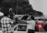 Image of Oil company warehouse under fire San Juan Puerto Rico, 1967, second 45 stock footage video 65675043046