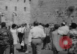 Image of Jewish New Year at Western Wall Jerusalem Israel, 1967, second 3 stock footage video 65675043048
