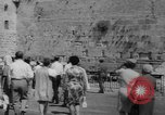 Image of Jewish New Year at Western Wall Jerusalem Israel, 1967, second 6 stock footage video 65675043048