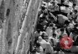 Image of Jewish New Year at Western Wall Jerusalem Israel, 1967, second 12 stock footage video 65675043048
