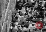 Image of Jewish New Year at Western Wall Jerusalem Israel, 1967, second 13 stock footage video 65675043048