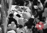 Image of Jewish New Year at Western Wall Jerusalem Israel, 1967, second 20 stock footage video 65675043048