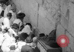 Image of Jewish New Year at Western Wall Jerusalem Israel, 1967, second 27 stock footage video 65675043048