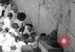 Image of Jewish New Year at Western Wall Jerusalem Israel, 1967, second 29 stock footage video 65675043048