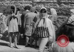Image of Jewish New Year at Western Wall Jerusalem Israel, 1967, second 32 stock footage video 65675043048