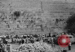 Image of Jewish New Year at Western Wall Jerusalem Israel, 1967, second 38 stock footage video 65675043048