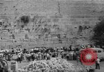 Image of Jewish New Year at Western Wall Jerusalem Israel, 1967, second 40 stock footage video 65675043048