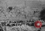 Image of Jewish New Year at Western Wall Jerusalem Israel, 1967, second 41 stock footage video 65675043048