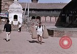 Image of group of local men Kathmandu Nepal, 1969, second 33 stock footage video 65675043061