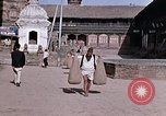 Image of group of local men Kathmandu Nepal, 1969, second 34 stock footage video 65675043061