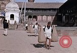 Image of group of local men Kathmandu Nepal, 1969, second 38 stock footage video 65675043061