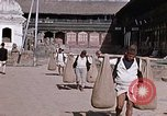 Image of group of local men Kathmandu Nepal, 1969, second 42 stock footage video 65675043061
