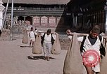 Image of group of local men Kathmandu Nepal, 1969, second 44 stock footage video 65675043061