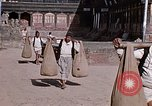 Image of group of local men Kathmandu Nepal, 1969, second 46 stock footage video 65675043061