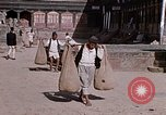 Image of group of local men Kathmandu Nepal, 1969, second 48 stock footage video 65675043061