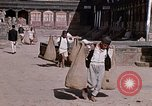 Image of group of local men Kathmandu Nepal, 1969, second 49 stock footage video 65675043061
