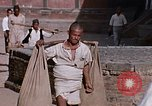 Image of group of local men Kathmandu Nepal, 1969, second 54 stock footage video 65675043061