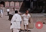 Image of group of local men Kathmandu Nepal, 1969, second 58 stock footage video 65675043061
