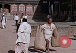 Image of group of local men Kathmandu Nepal, 1969, second 59 stock footage video 65675043061