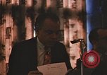 Image of Panelists address students Chicago Illinois USA, 1970, second 15 stock footage video 65675043075