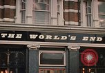 Image of World's End cafe London England United Kingdom, 1970, second 6 stock footage video 65675043077