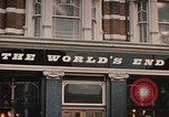Image of World's End cafe London England United Kingdom, 1970, second 8 stock footage video 65675043077